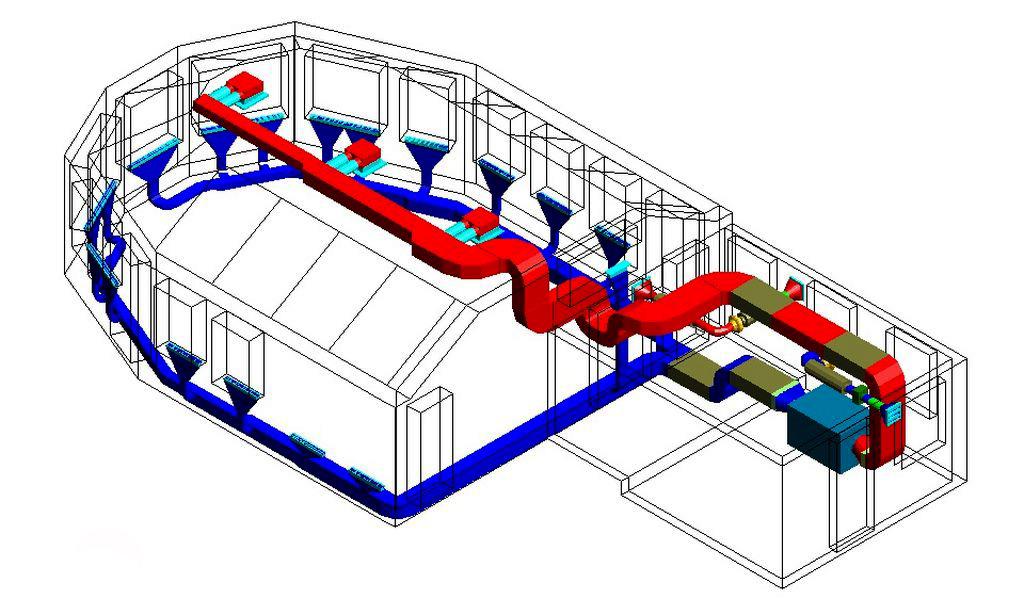 Вентиляционная система в сауне