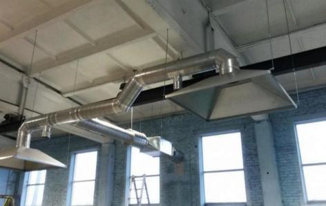 Устройства вытяжной вентиляции