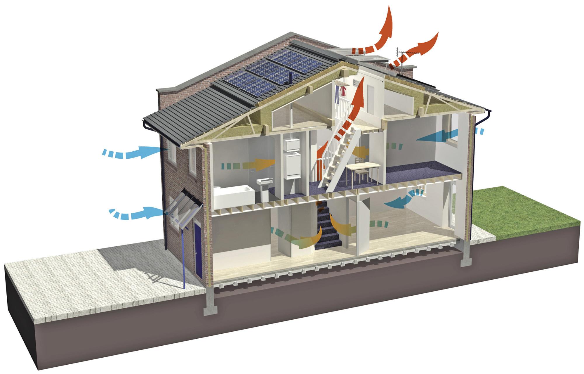 Эффективный рекуператор воздуха своими руками - Инж. системы 15