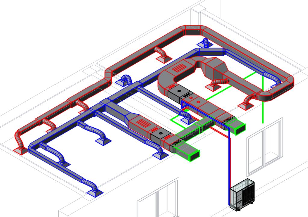 Виды систем вентиляции схема